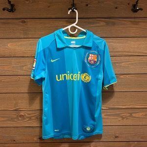 Nike Barcelona Ronaldinho Jersey